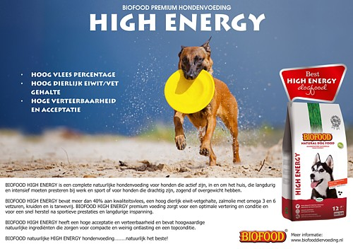 BIOFOOD HIGH ENERGY HONDENVOEDING